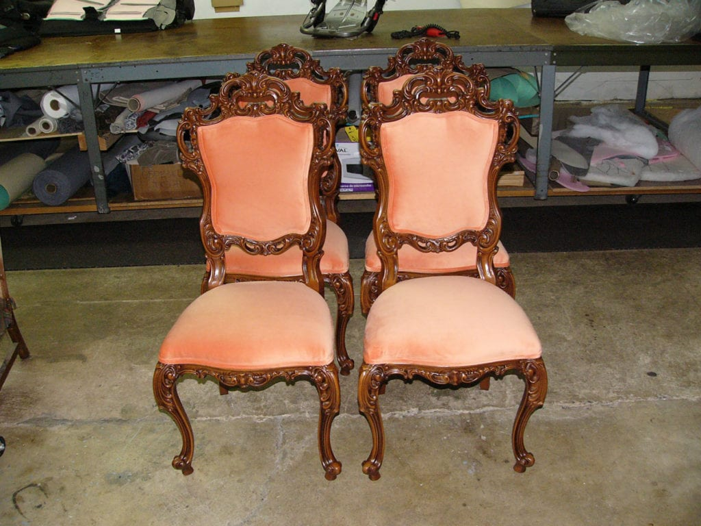 Antique Italian Victorian Style Dining Room Chair Set ...