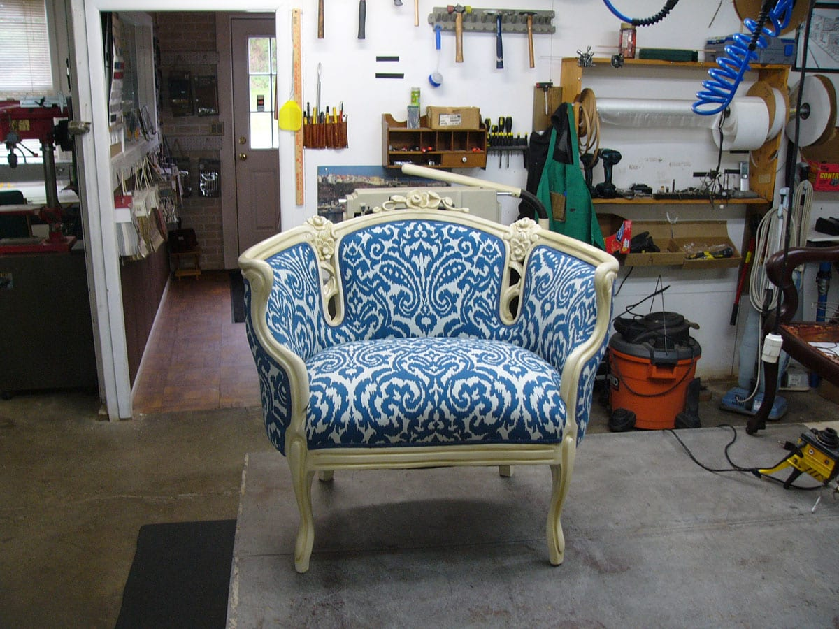 Antique Victorian Style Chair Upholstery Shop Quality