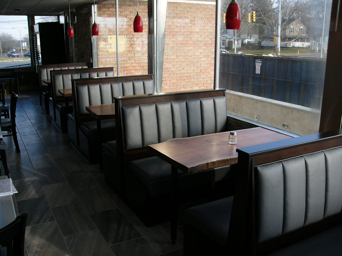 New Booth Seats Design For Restaurant Expansion Project