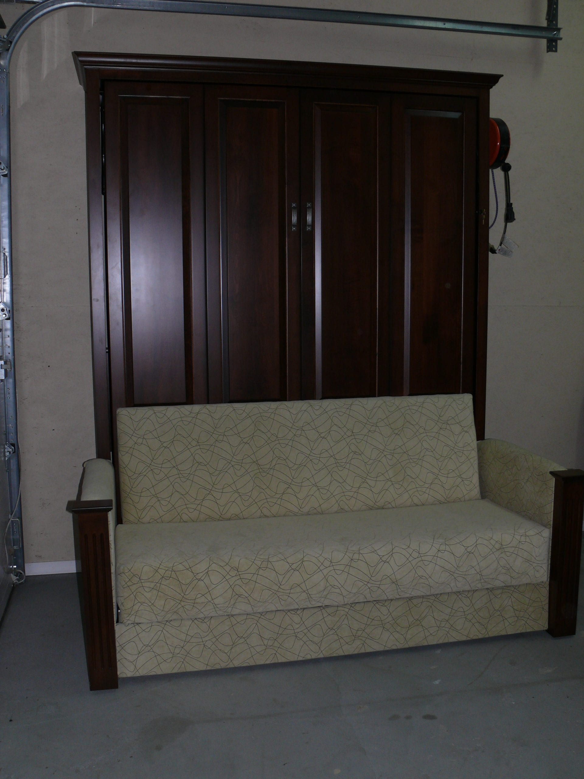Murphy Bed With Sofa In Front Upholstery Shop Quality