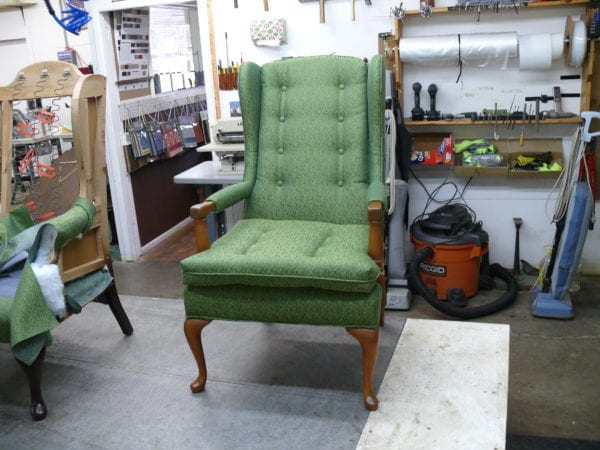 Antique Wingback Chair With Armrest Replacement