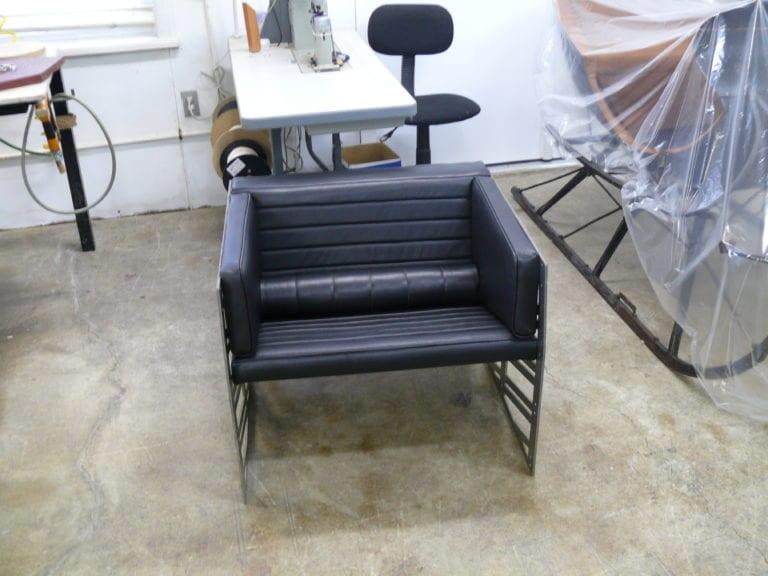 Custom Upholstery for Uhuru GÄRDESGÅRD Leather Chair