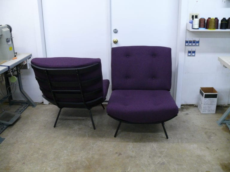 Cushion Made for Uhuru Design Wool Chair