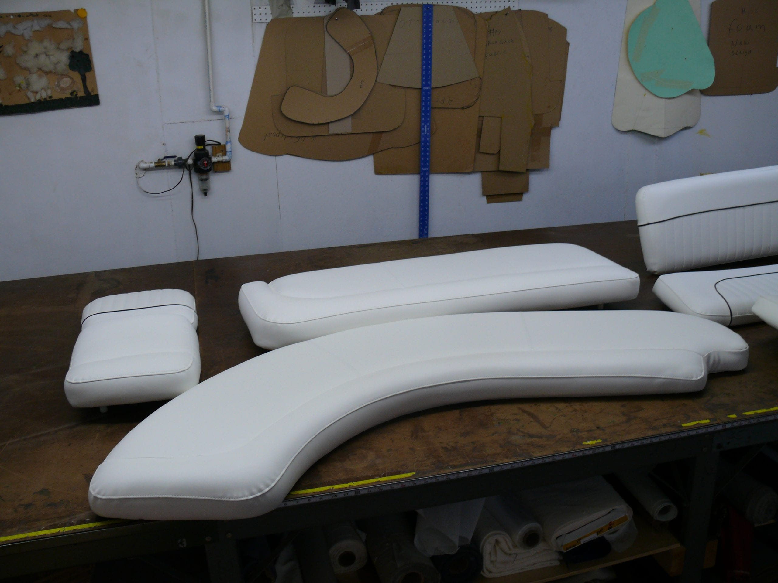 Rinker Boat Upholstery Shop Quality Reupholstery