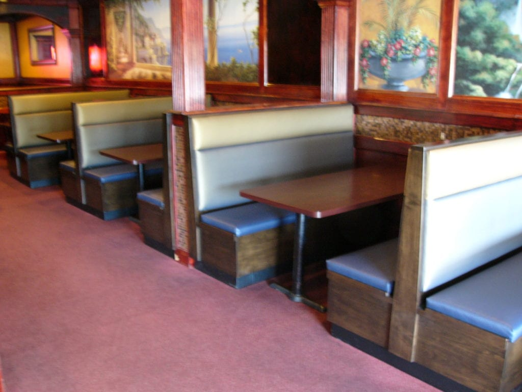 Customized Booths For Tosco Restaurant In Wernersville, PA