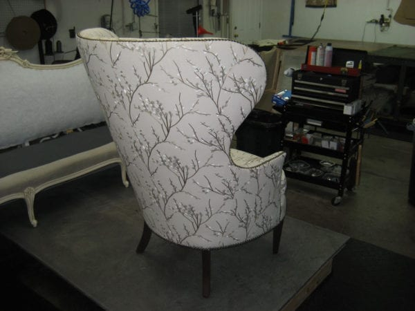 Antique Boldly Piece Frame and Upholstery Restoration