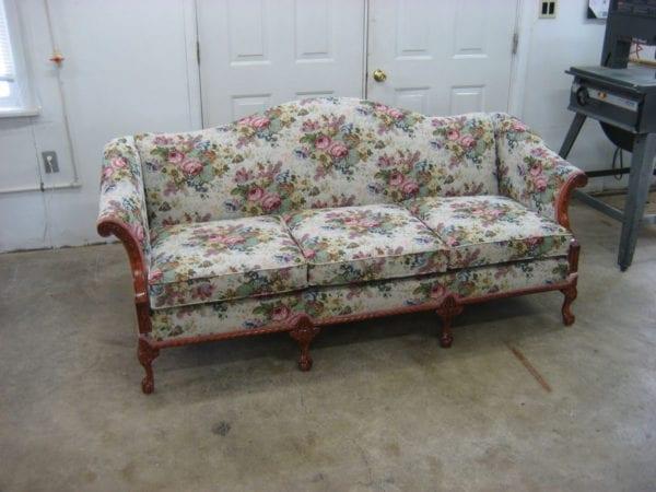 Antique Sofa With Original Woodwork