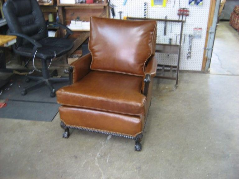 Antique Club Chair Restoration