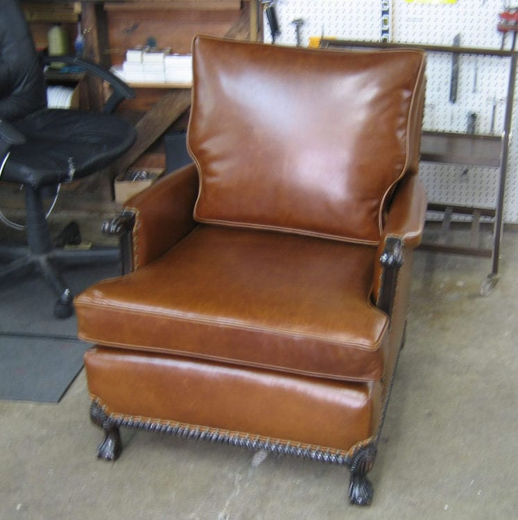 Pleasing Antique Club Chair Restoration Upholstery Shop Quality Ocoug Best Dining Table And Chair Ideas Images Ocougorg