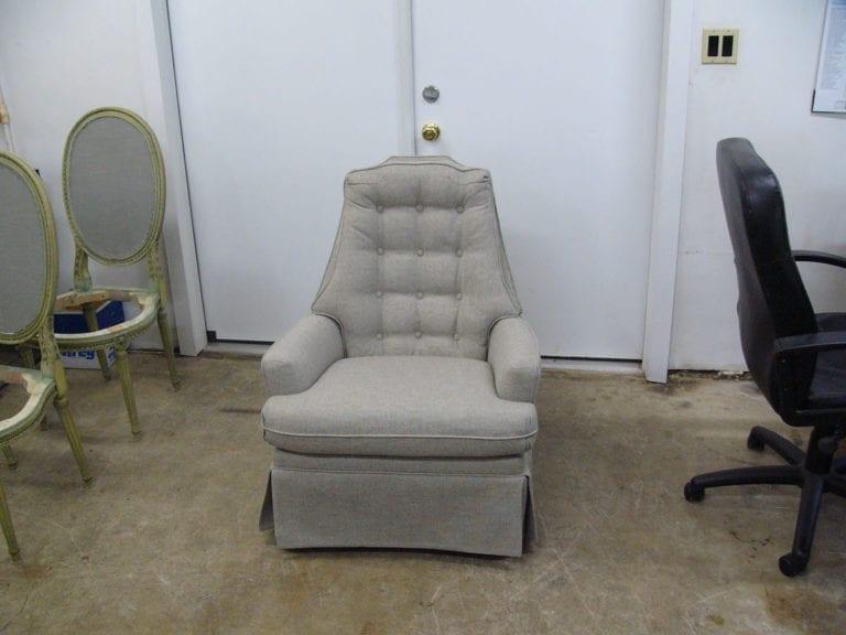 Antique Swivel Chair Restoration