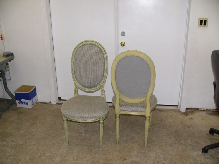 Antique Oval Chair