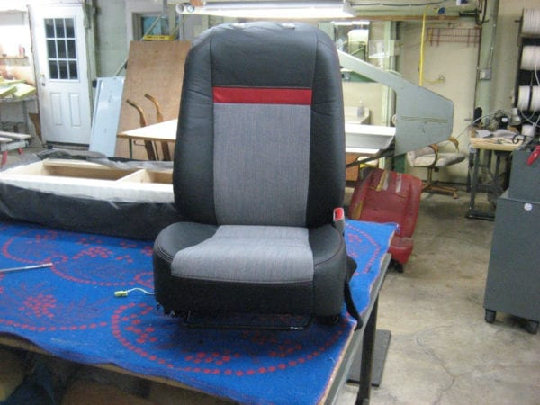 Custom Seat Design for Toyota Camry 2012