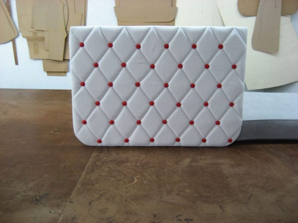 Classic Commercial Truck Upholstery for a Showroom