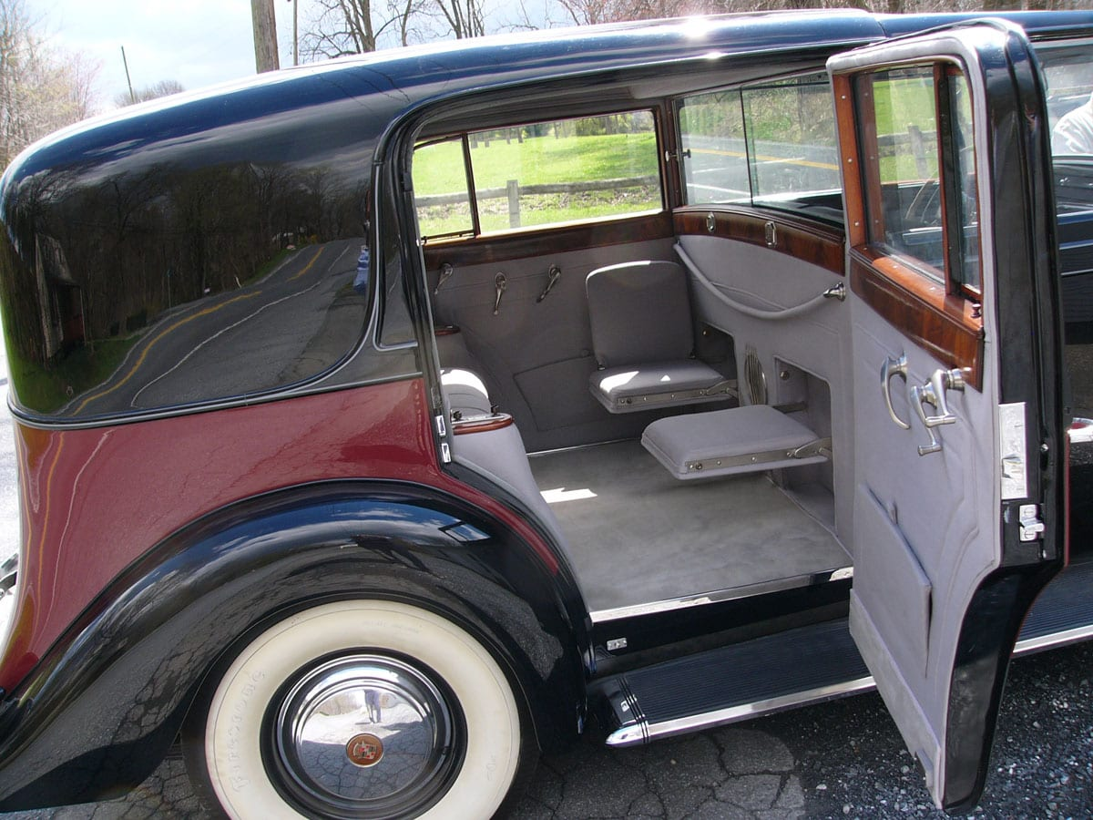 Custom Historic Cadillac 1939 Reupholstery Project