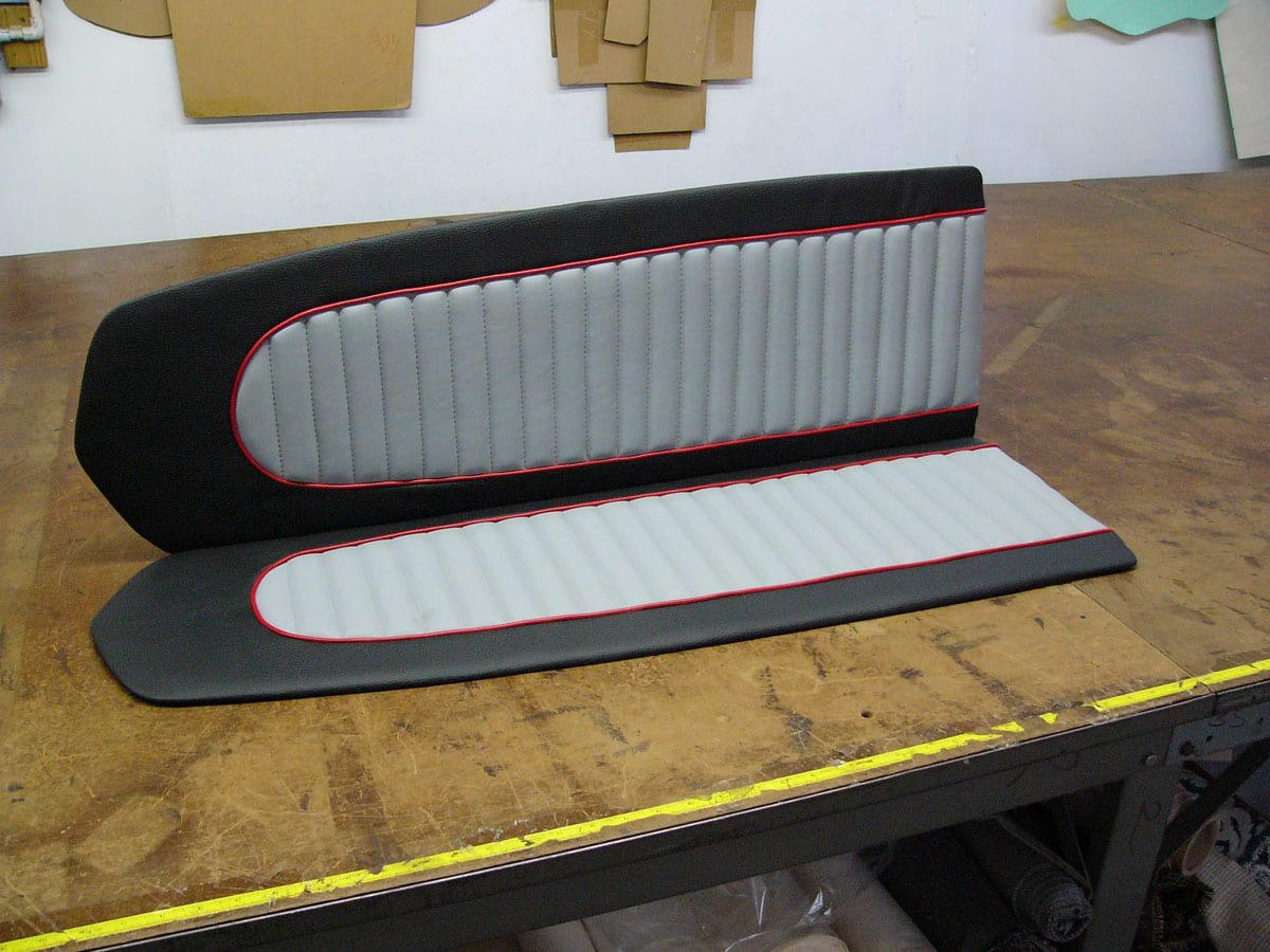Ford Mustang 1967 Seats And Door Panels Upholstery