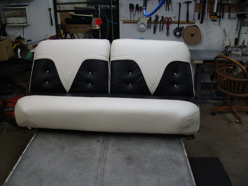 1955 cadillac eldorado upholstery restoration upholstery shop quality reupholstery restoration. Black Bedroom Furniture Sets. Home Design Ideas