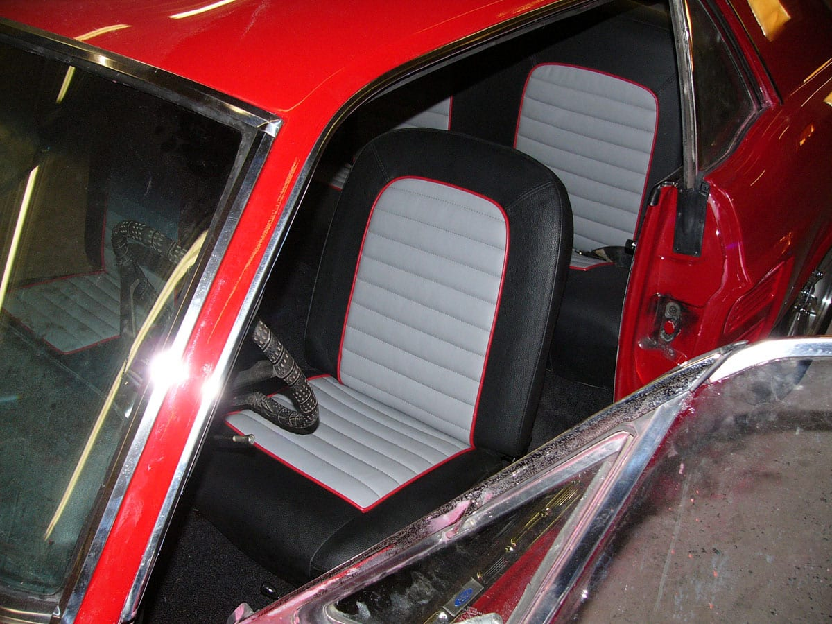 Ford Mustang 1967 Seats And Door Panels Upholstery Upholstery Shop Quality Reupholstery