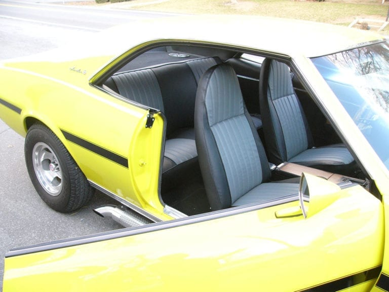 A 1969 AMC Javelin Upholstery Project