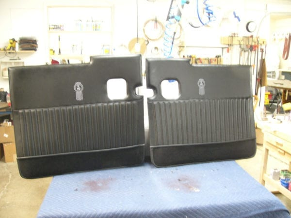 Auto Door Panels Custom Upholstery Repair