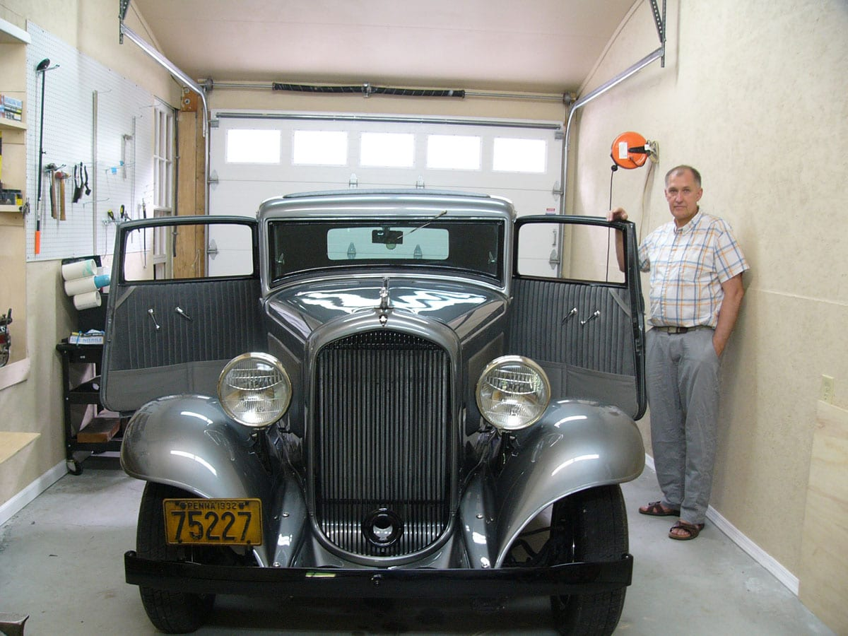 One Of A Kind Plymouth 1932 Restoration Project