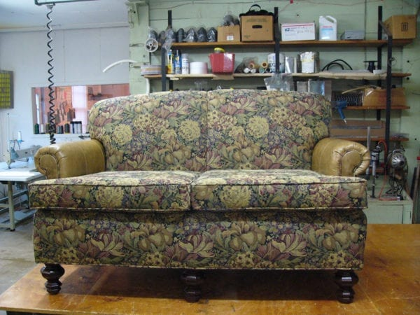This Love Seat Sofa and Chair Set Restoration Project