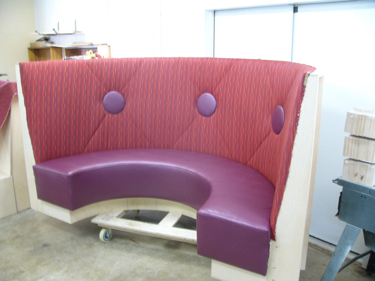 Project Details. A Local Church Cafeteria Renovation Upholstery ...