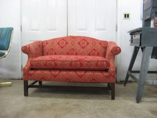 Chippendale Style Furniture Set Upholstery