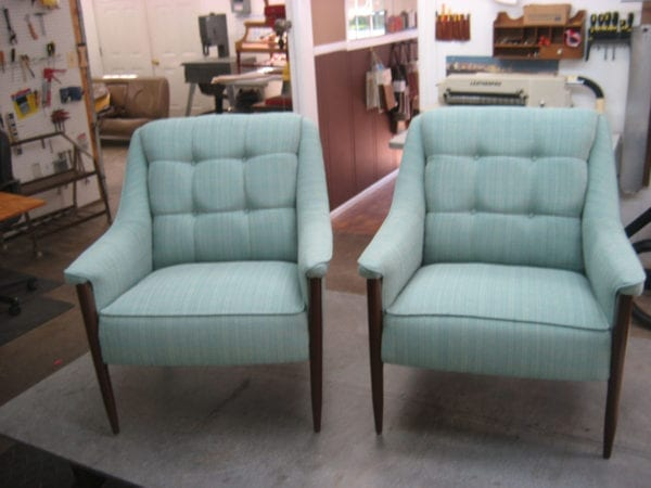 Midcentury Contemporary Style Chairs Upholstery