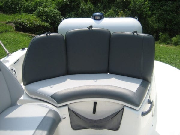 Total Makeover of Islandia Boat With New Upholstery