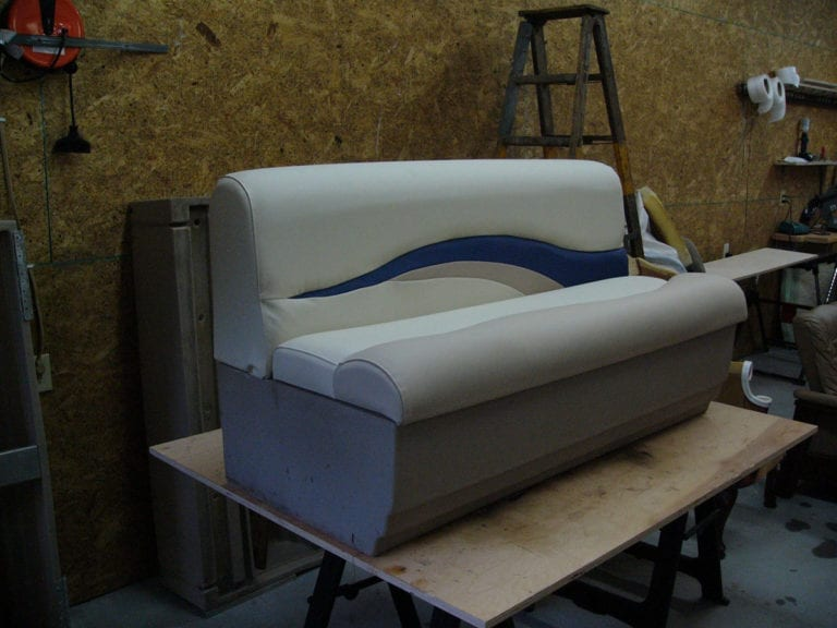 Reupholstery Of Sun Tracker Interior Upholstery Shop