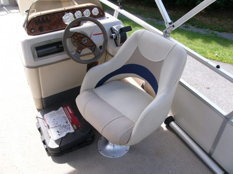 Reupholstery of Sun Tracker Interior