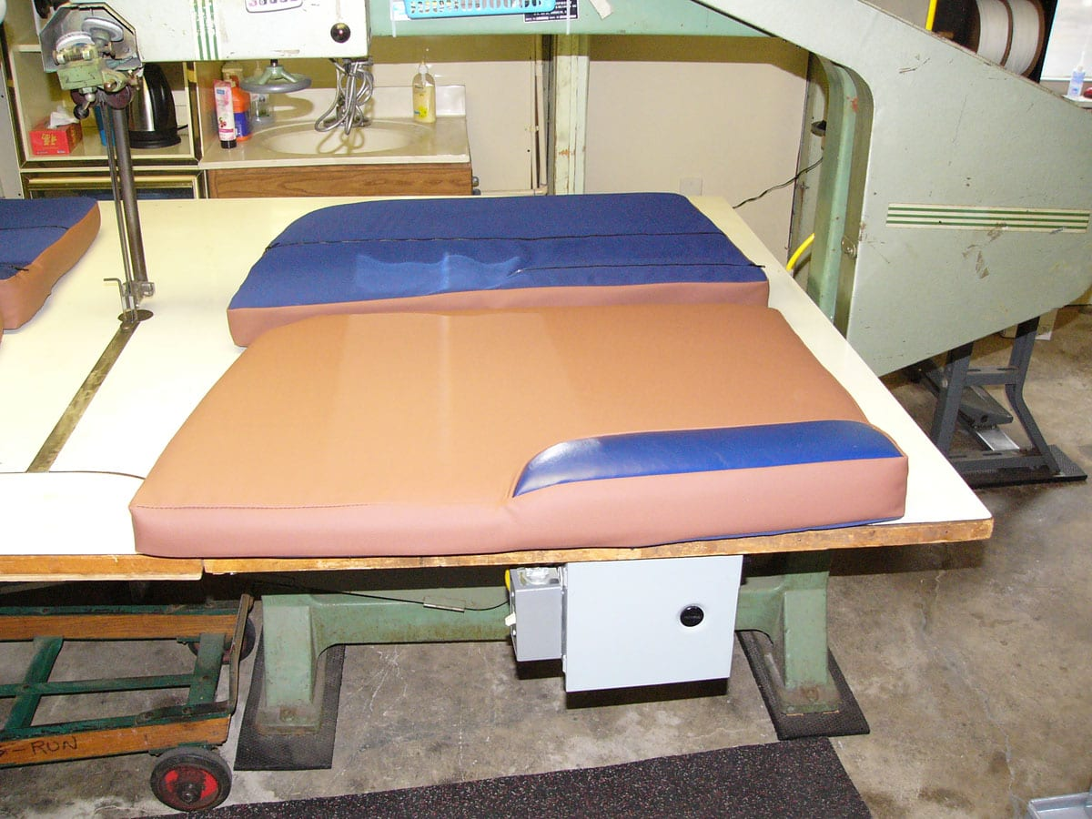 Redesign Of World Cat 250 DC Upholstery