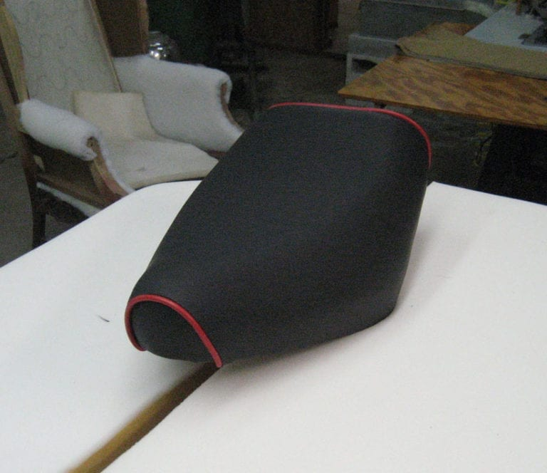Special Customization and Upholstery for A Motorcycle Seat