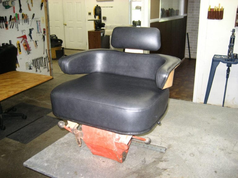 Tractor Seat Upholstery and Repair
