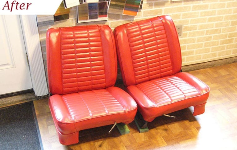 Seats Reupholstery for this Classic 1962 Studebaker Lark