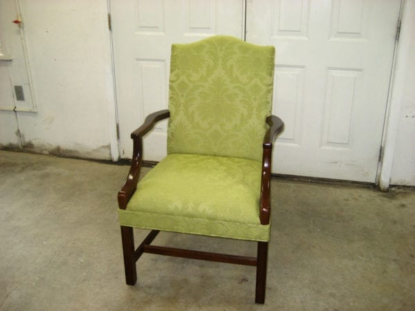 Reupholstery and Repair For Classic Chair