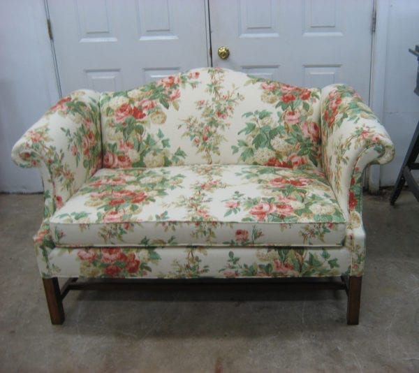 Chippendale Style Full Reupholstery