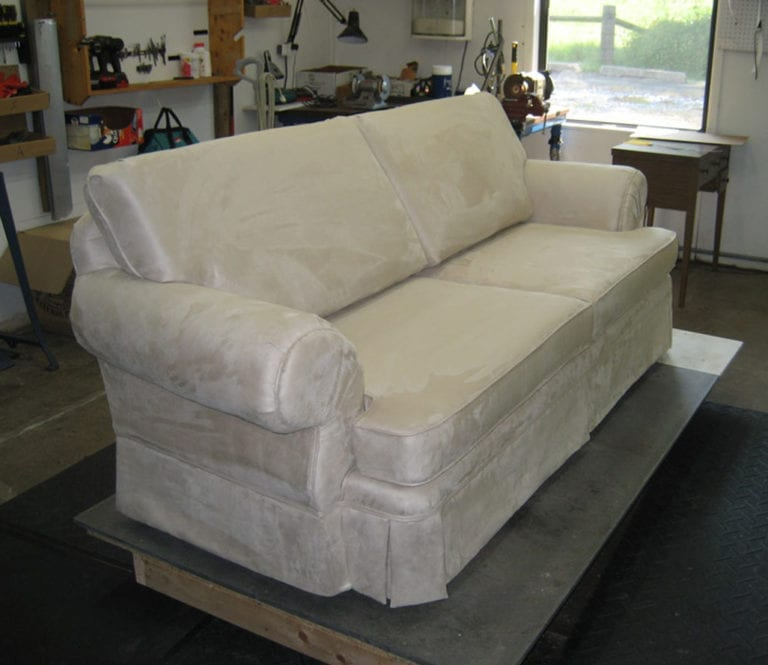 Living Room Sofa Completer ReUpholstery