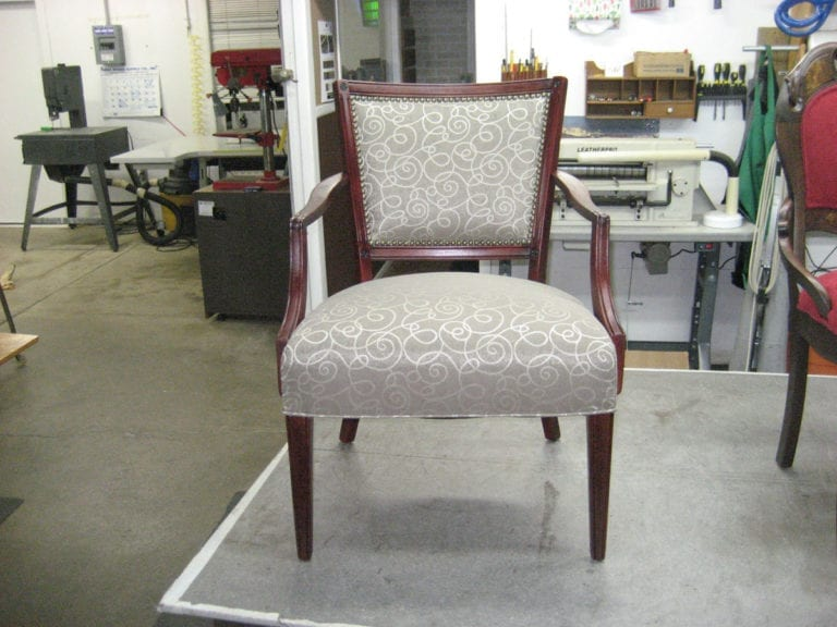 Classic Chair Re-Upholstery and Refinishing