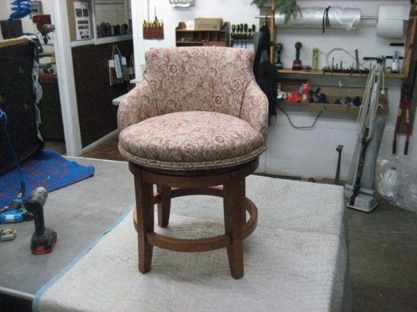 Swivel Vanity Chair Upholstery