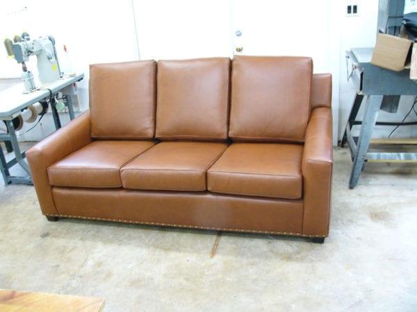 Leather flexsteel sofa