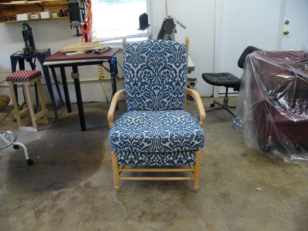 Classic Chair Custom Re Upholstery Upholstery Shop