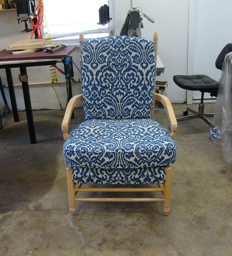 Classic Chair Custom Re-Upholstery