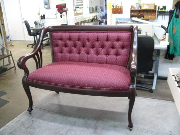 Victorian Style Sofa Restoration and Upholstery – Upholstery Shop ...