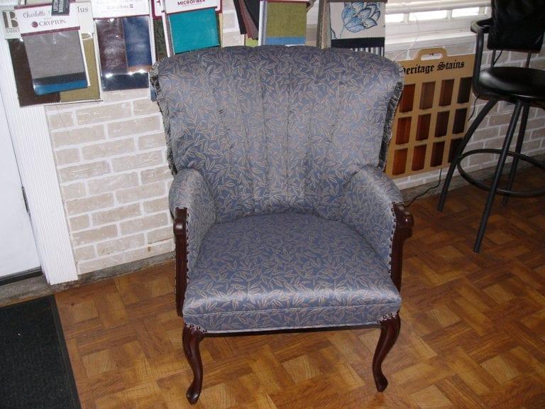 Antique Channel Back Chair Restoration
