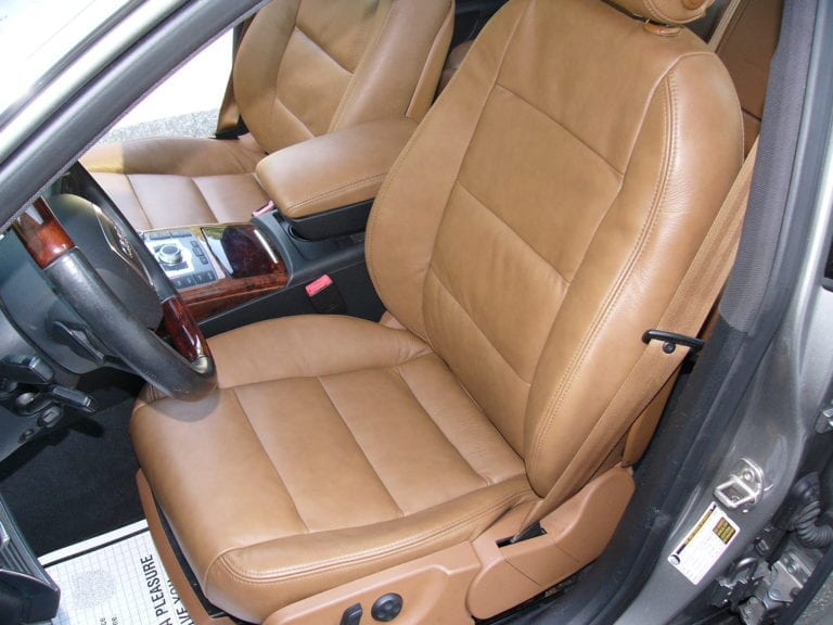 2006 Audi A6 Leather Seats Upholstery Project