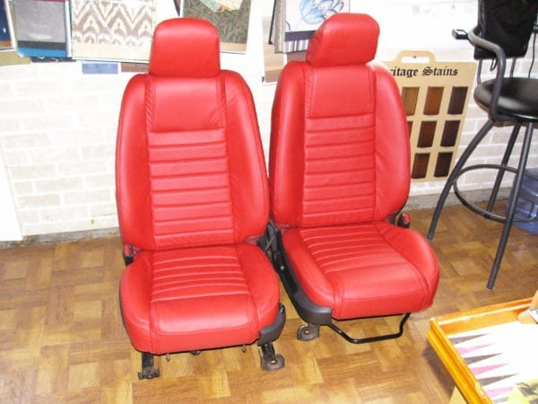 2007 Ford Mustang Leather Seats Reupholstery