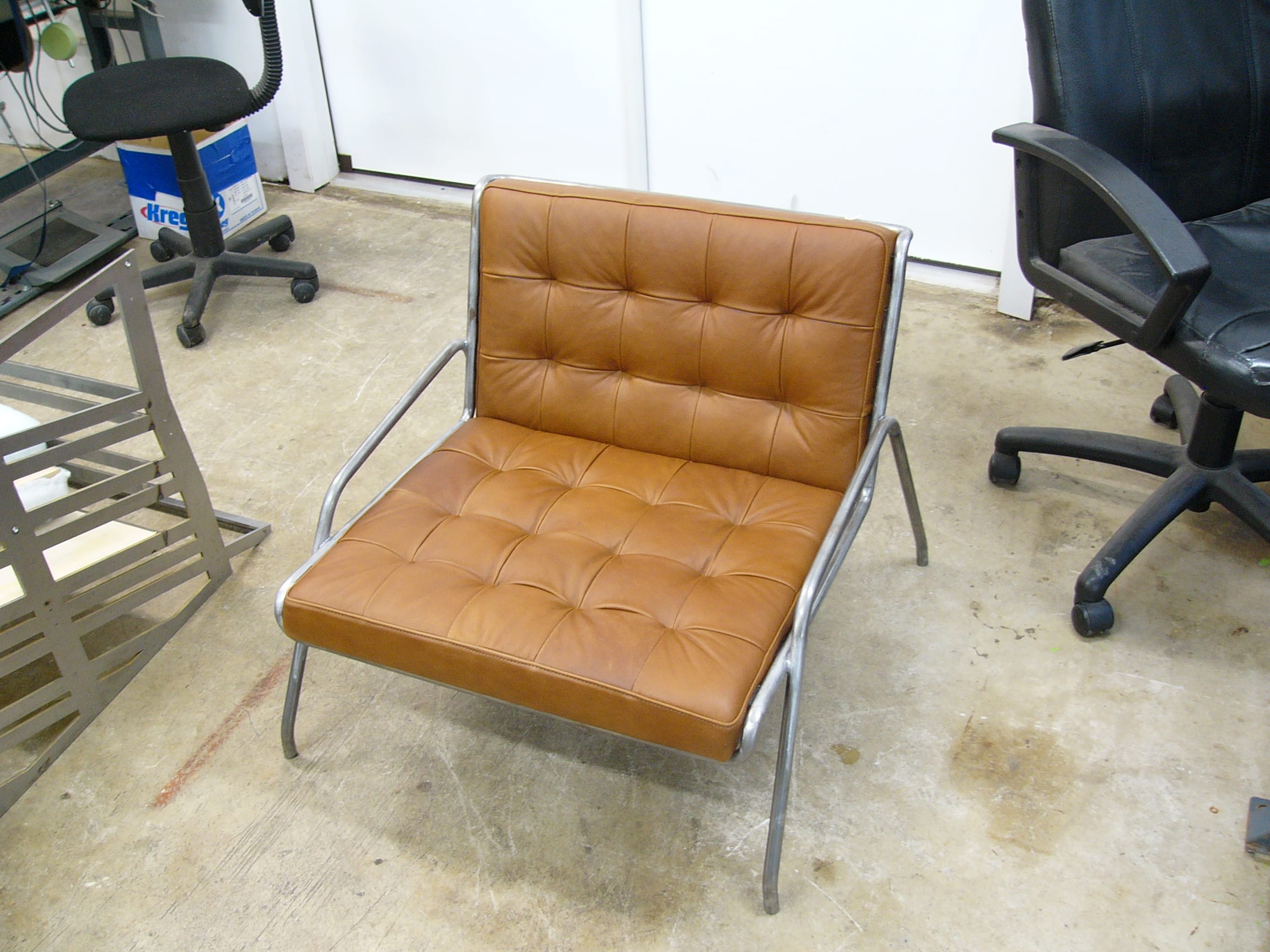 Cushion Made For Uhuru Design Leather Chair Upholstery