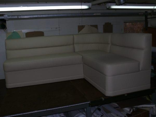 Custom Corner Sofabed for Ocean Boat
