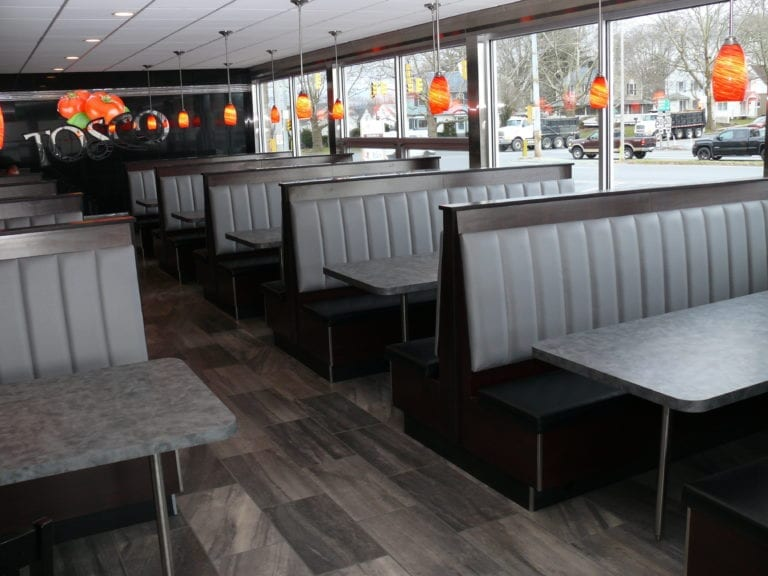 Restaurant Booth for Tosco Pizza